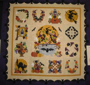 Halloween quilt large