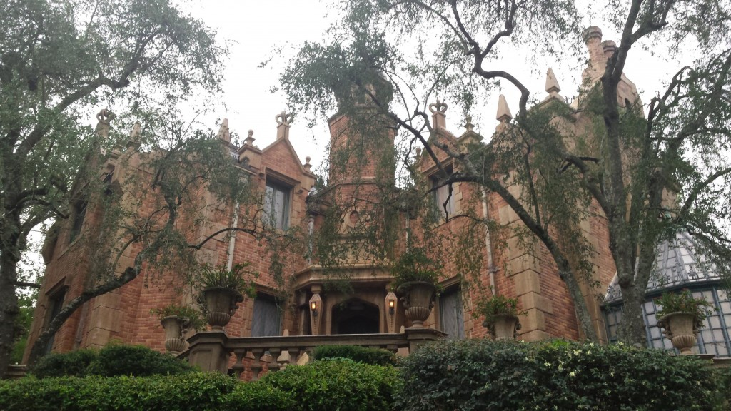 Haunted Mansion full view